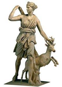 artemis-w-deer